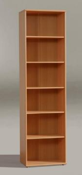 Tempra Beech Tall Wide Bookcase - 2337