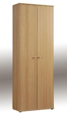 Tempra Tall Beech Filing Stationery Cupboard - 2341